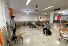 تصویر از برگزاری کلاس های رفع اشکال پایه دوازدهم با رعایت کامل پروتکل های بهداشتی
