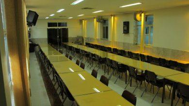 تصویر از سالن غذاخوری دبیرستان غیردولتی دانش دوره دوم